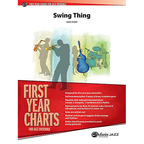 Alfred Swing Thing Jazz Band Grade 1 Set