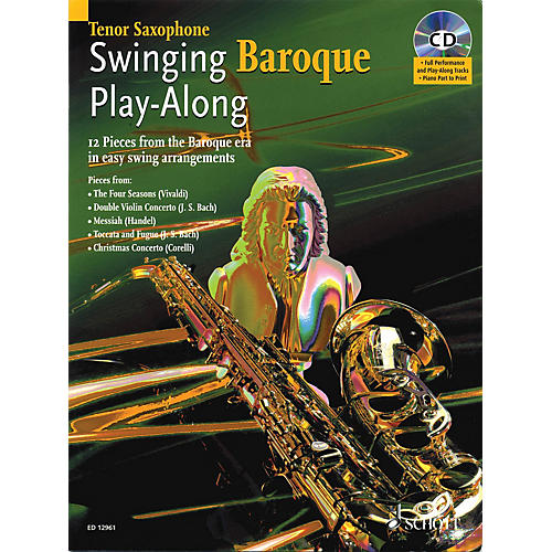 Schott Swinging Baroque Play-Along Misc Series Book with CD