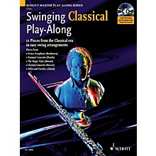Schott Swinging Classical Play-Along Woodwind Solo Series Softcover with CD