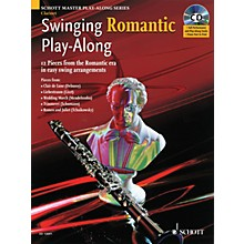Schott Swinging Romantic Play-Along Instrumental Folio Series BK/CD
