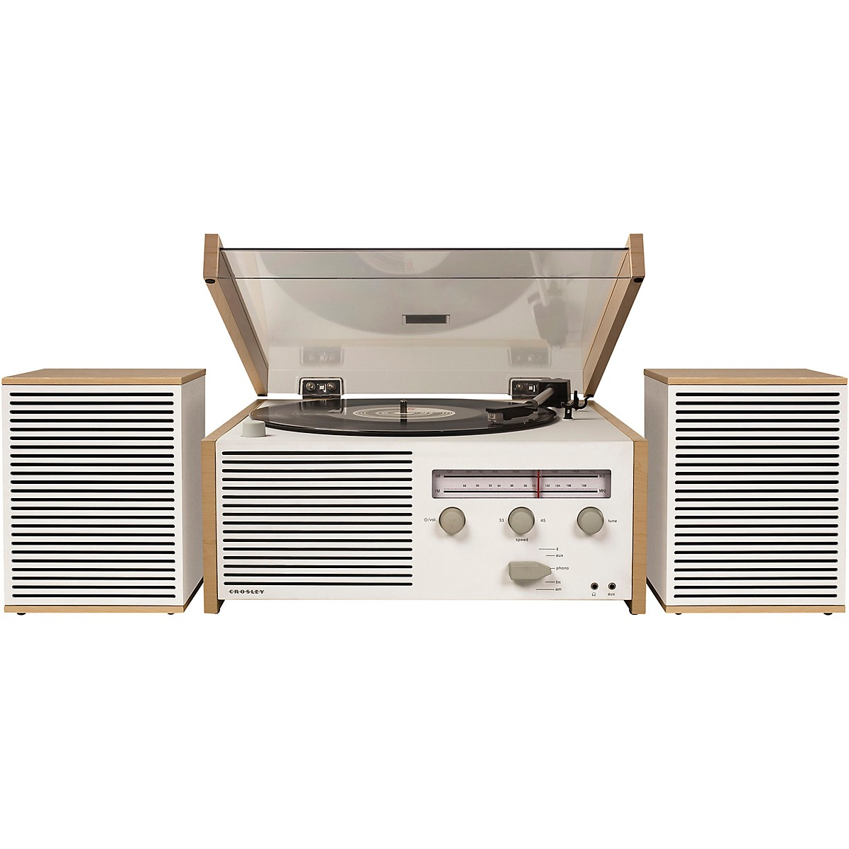 Crosley Switch II All-in-One Turntable System with Bluetooth