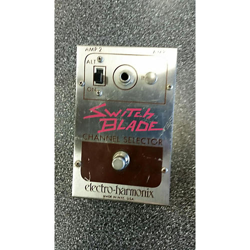 Electro-Harmonix Switchblade Channel Selector Footswitch Pedal