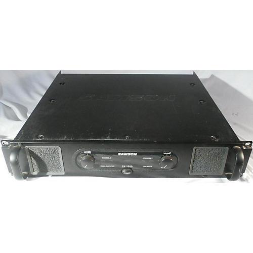 Samson Sx1200 Power Amp