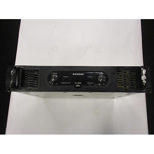 Samson Sx2800 Power Amp