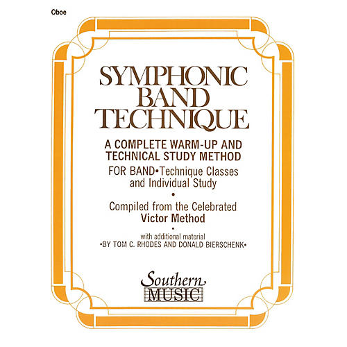 Southern Symphonic Band Technique (S.B.T.) (Oboe) Southern Music Series Arranged by John Victor