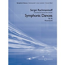 Boosey and Hawkes Symphonic Dances, Op. 45 Concert Band Level 5 Composed by Sergei Rachmaninoff Arranged by Paul Lavender