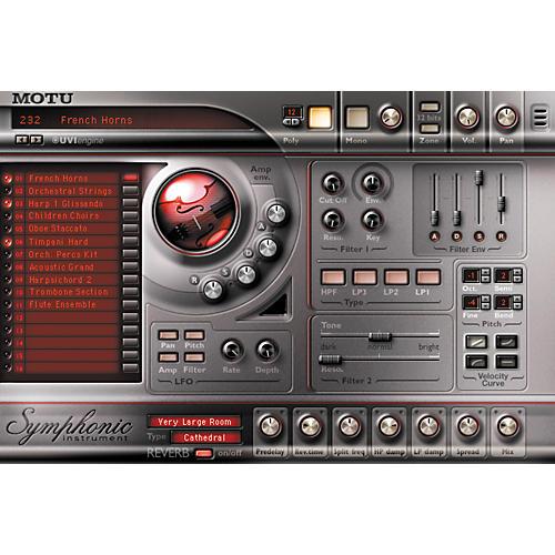 MOTU Symphonic Instrument Plug-In