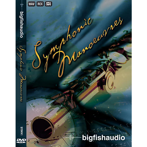 Big Fish Symphonic Manoeuvres Sample Library DVD Set