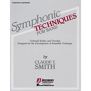 Hal Leonard Symphonic Techniques for Band Trombone and Bassoon Concert Band... by Hal Leonard