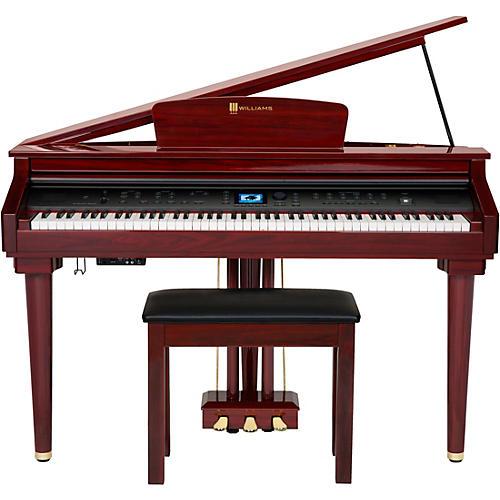 Grand Piano Images williams symphony grand digital piano with bench | guitar center