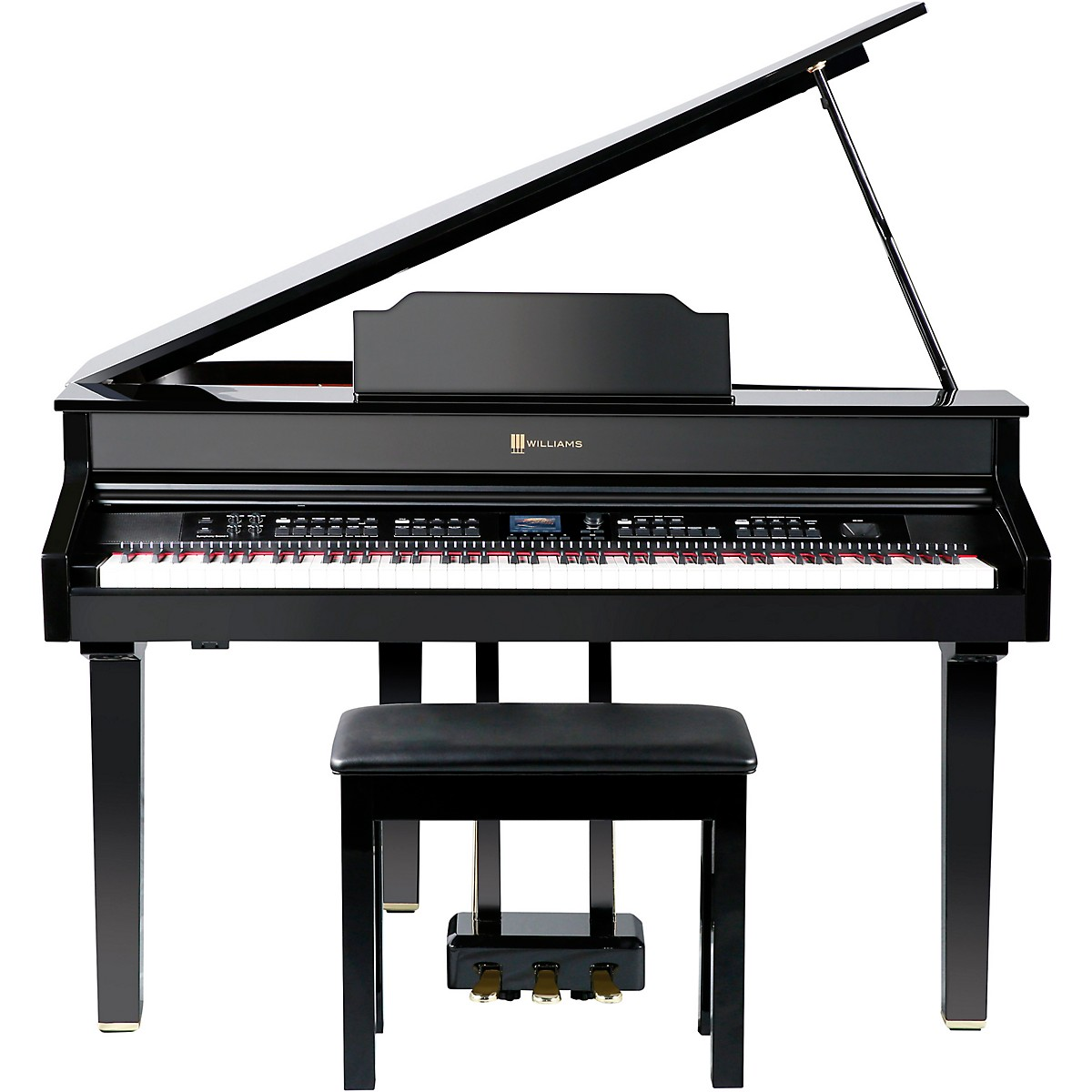 Williams Symphony Grand II Digital Micro Grand Piano With Bench