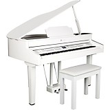 Williams Symphony Grand II Digital Micro Grand Piano With Bench White 88 Key