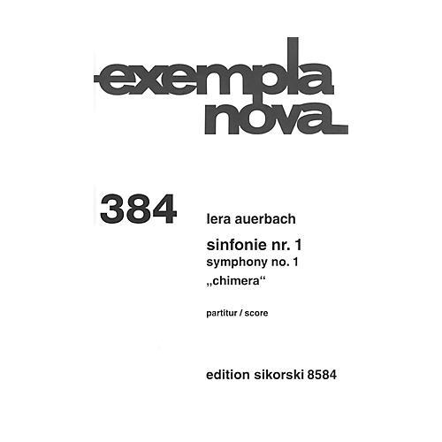 Sikorski Symphony No. 1 Chimera (Study Score) Score Composed by Lera Auerbach