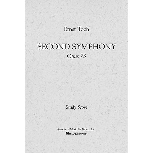 Associated Symphony No. 2, Op. 73 (Full Score) Study Score Series Composed by Ernst Toch