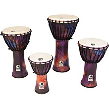 Synergy Freestyle Rope Tuned Djembe 10 in. Purple