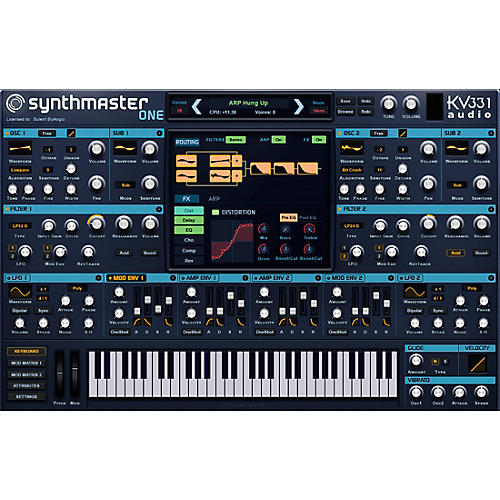 KV331 Audio SynthMaster 2 Crossgrade From SynthMaster One