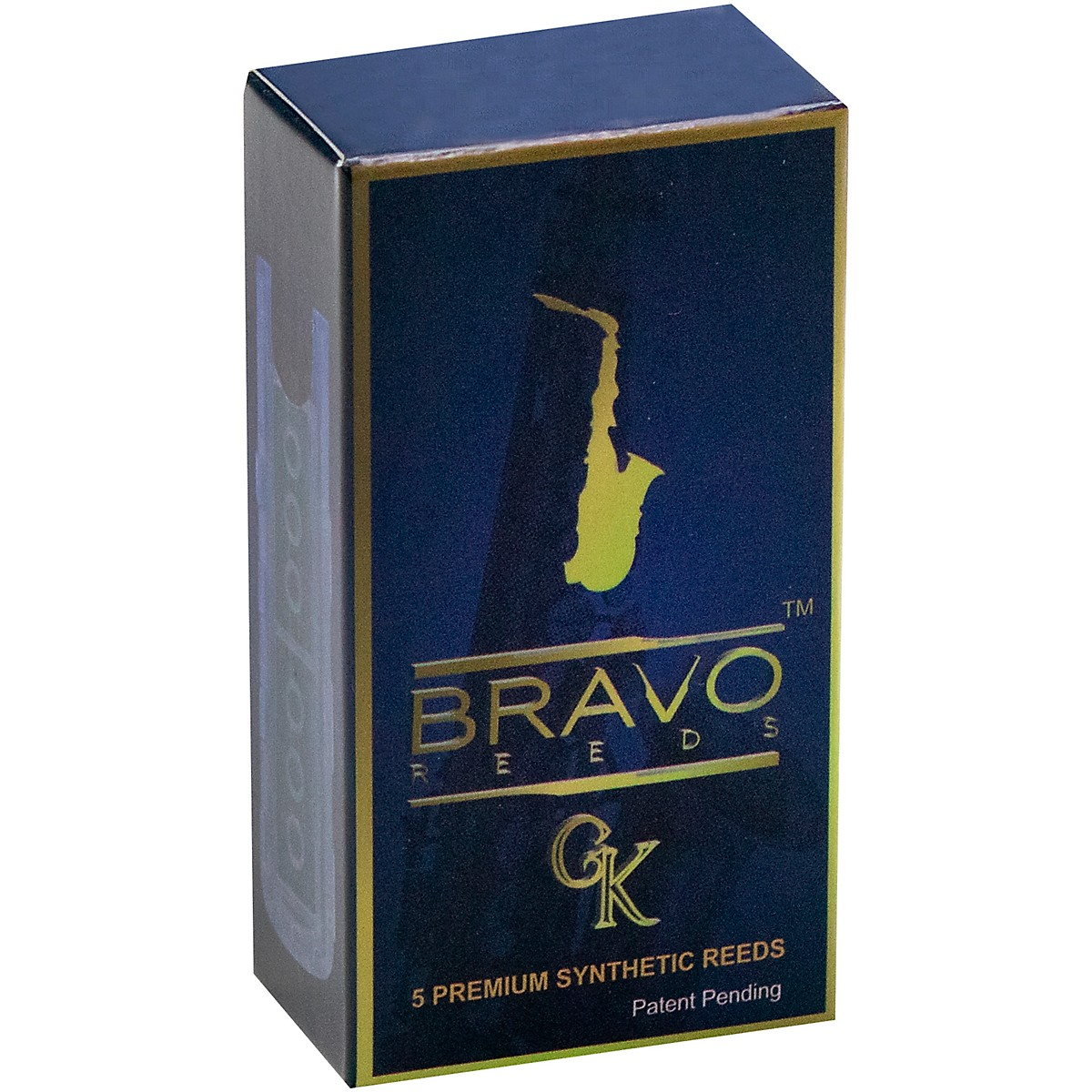 Bravo Reeds Synthetic Alto Saxophone Reed 5 Pack