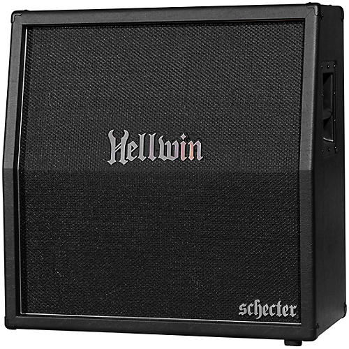 Schecter Guitar Research Synyster Gates Signature Hellwin Stage 240W 4x12 Slant Guitar Speaker Cabinet