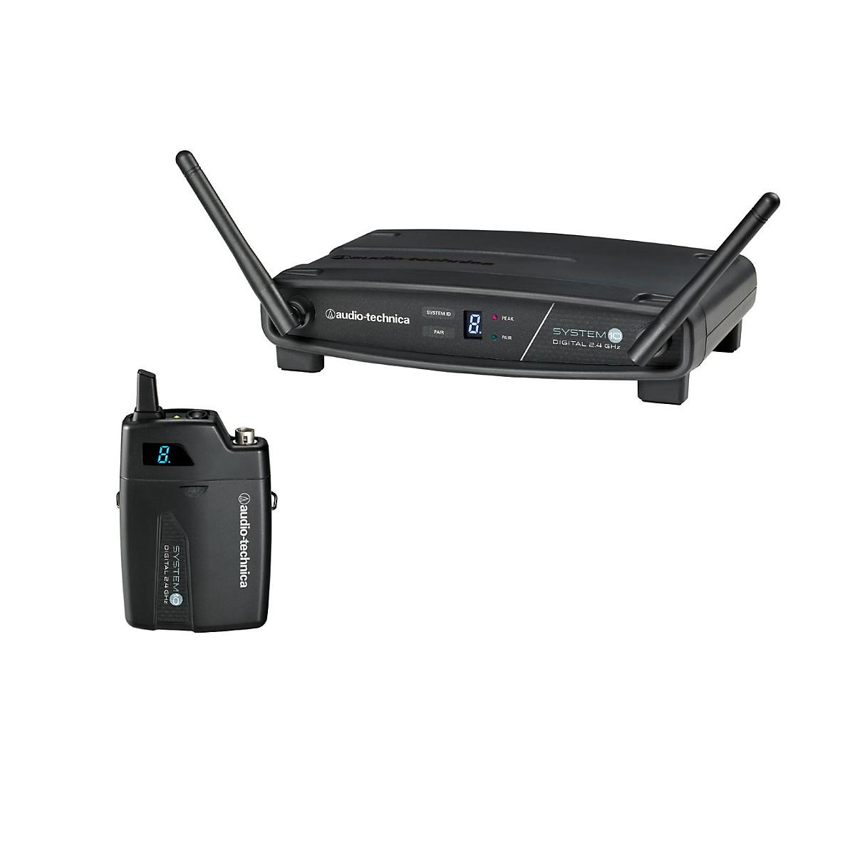 Audio-Technica System 10 ATW-1101 2.4GHz Digital Wireless Bodypack System