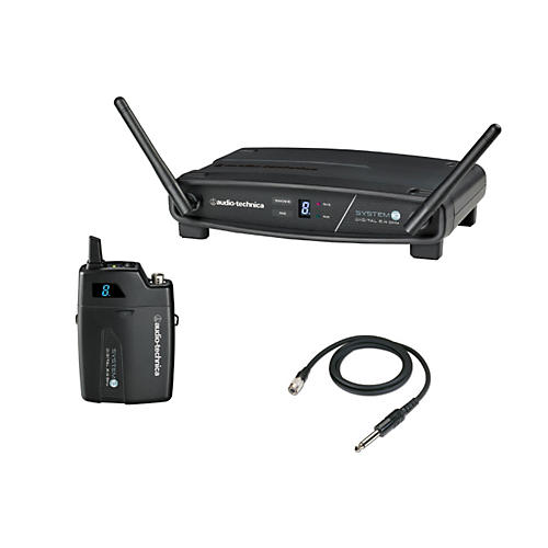 Audio-Technica System 10 ATW-1101/G 2.4GHz Digital Wireless Instrument System w/ Guitar Cable