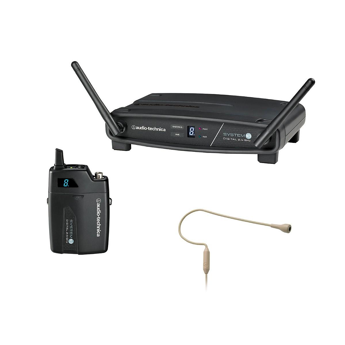 Audio-Technica System 10 ATW-1101/H92-TH 2.4GHz Digital Wireless Headset System