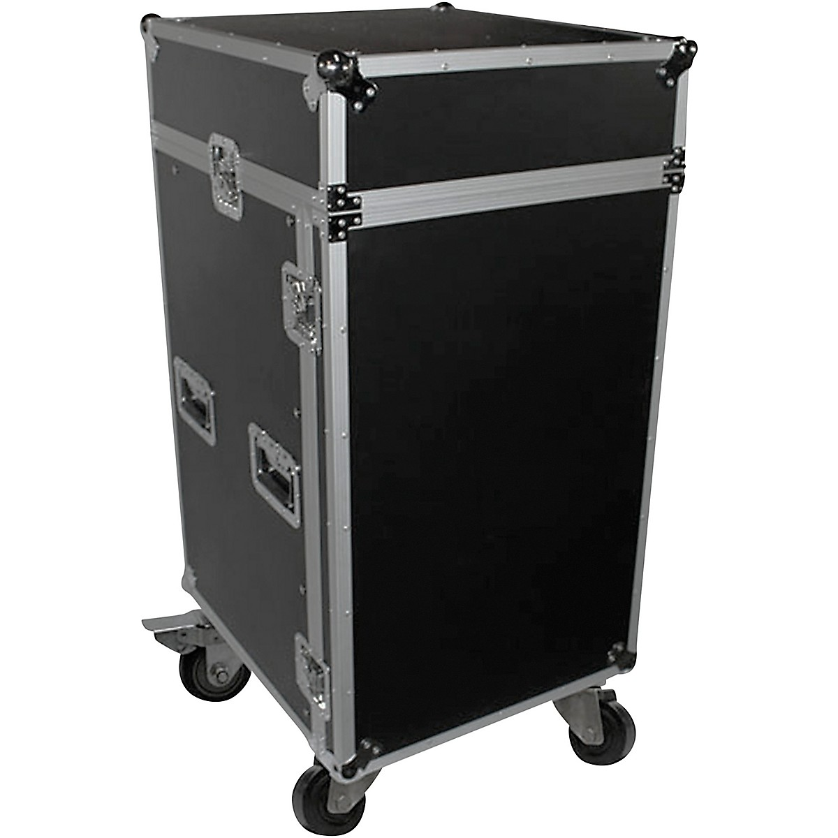 ProX T-18MRSS 18U Rack x 10U Top Mixer DJ Combo ATA Flight Case
