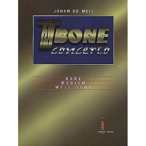 Amstel Music T-Bone Concerto (Mvt. II - Medium: Parts Only) Concert Band Level 5-6 Composed by Johan de Meij