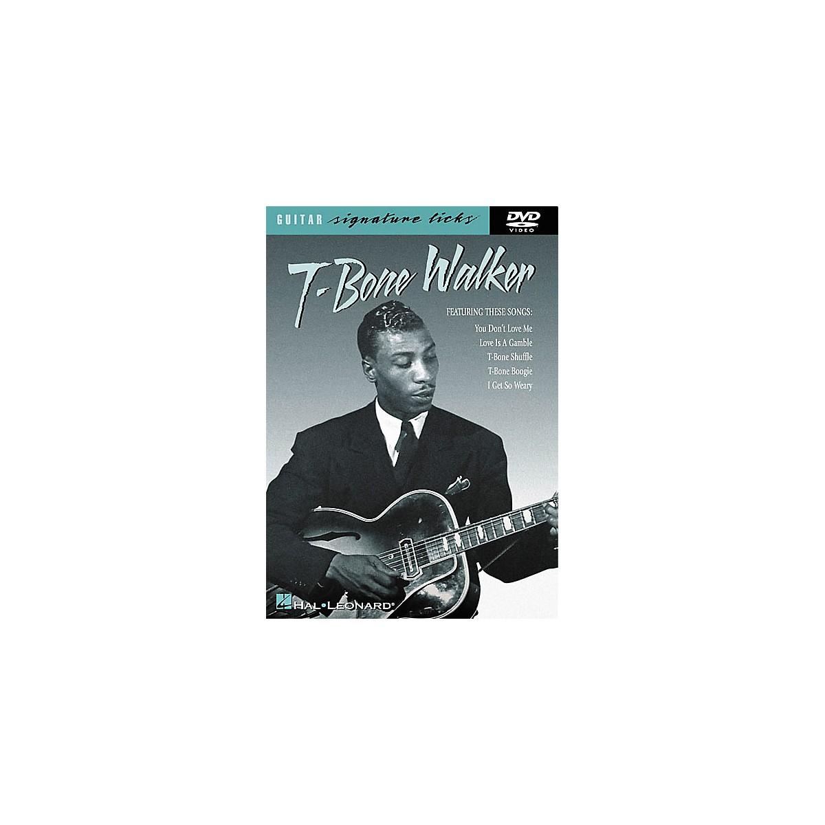 Hal Leonard T-Bone Walker Signature Licks (DVD)