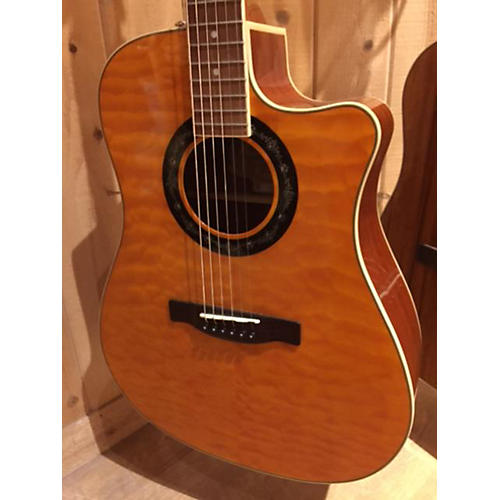 Fender T Bucket 300CE Amber Acoustic Electric Guitar
