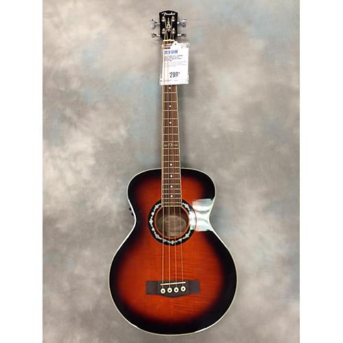 Fender T-Bucket Grand Concert AE W/ Hardshell Molded Case Acoustic Bass Guitar