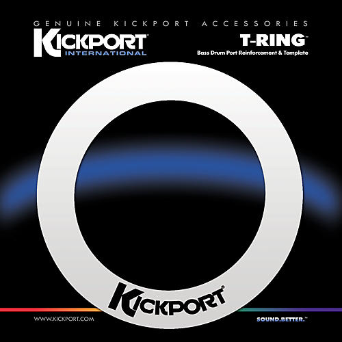 Kickport T-Ring Bass Drum Template/Reinforcement Ring