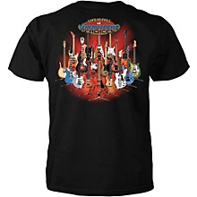 """Taboo T-Shirt """"Important Choices"""" Guitars on Stands"""