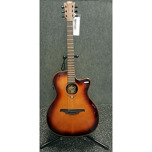 used lag guitars t100ace brs acoustic electric guitar guitar center. Black Bedroom Furniture Sets. Home Design Ideas