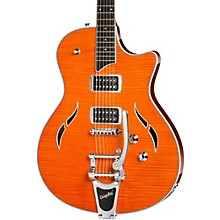 T3/B Semi-Hollowbody with Bigsby Electric Guitar Orange