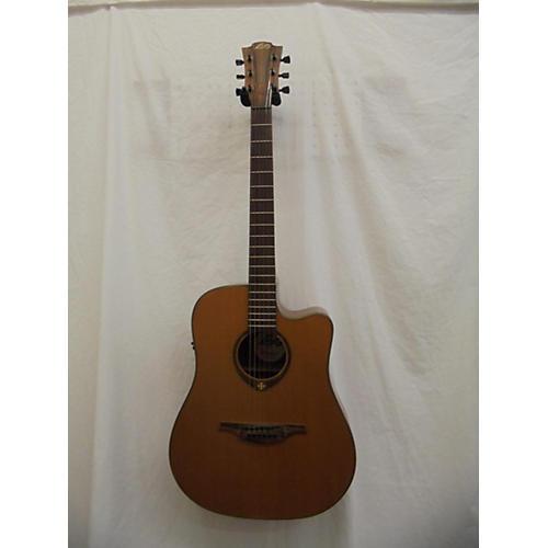 Lag Guitars T300DCE Acoustic Electric Guitar