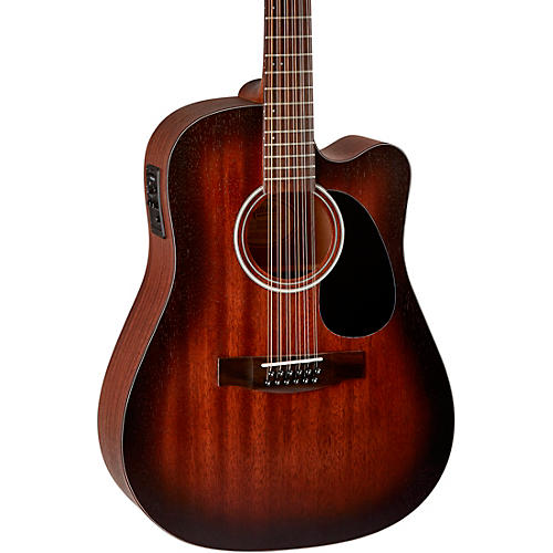 Mitchell T331TCE-BST Terra 12 String Acoustic Electric Dreadnaught Mahogany Top Guitar