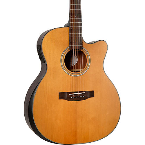 Mitchell T413CE Solid Torrefied Spruce Top Auditorium Acoustic-Electric Cutaway Guitar