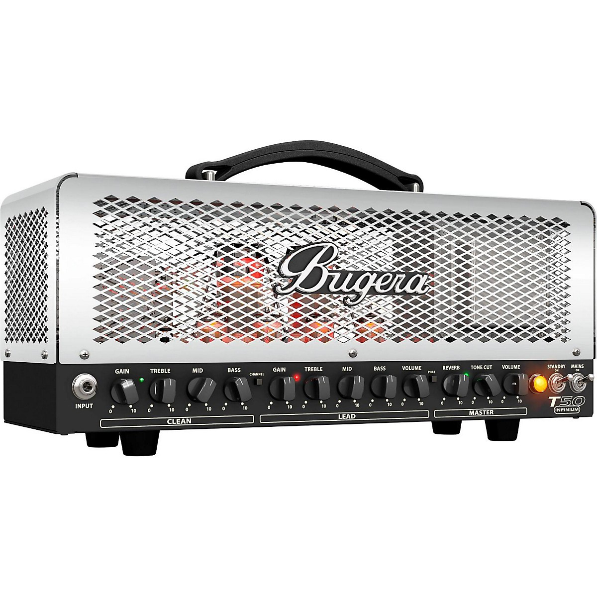 Bugera T50 Infinium 50W Tube Guitar Amplifier Head