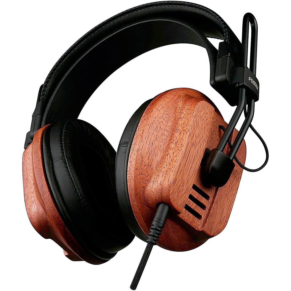 Fostex T60 RP Premium Mahogany Semi-Open Headphones
