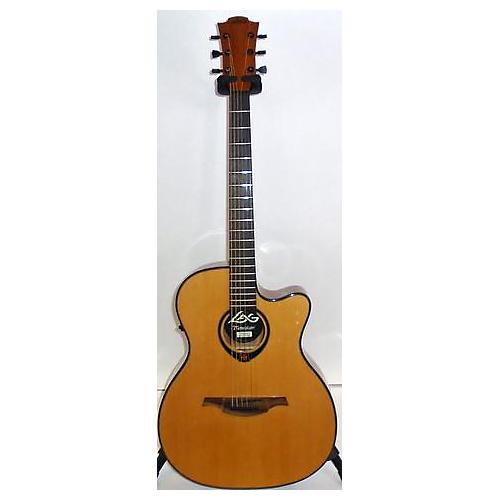used lag guitars t66ace acoustic electric guitar guitar center. Black Bedroom Furniture Sets. Home Design Ideas