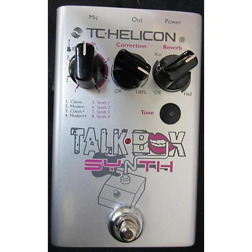 TC Helicon TALK BOX Effect Pedal