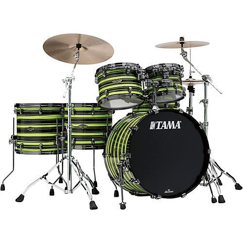 TAMA TAMA Starclassic Walnut/Birch 5-Piece Shell Pack with 22 in. Bass Drum with Black Nickel Hardware