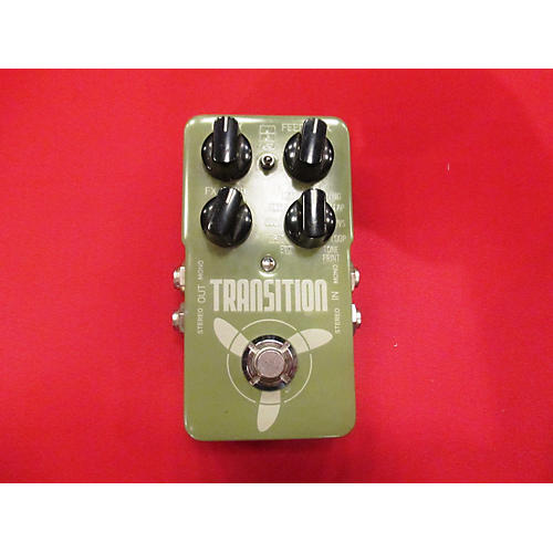 TC Electronic TANSITION DELAY Effect Pedal