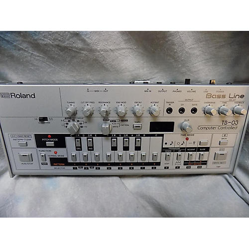 Roland TB-03 BASS LINE Production Controller
