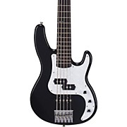 TB505 5-String Traditional Bass Guitar Black