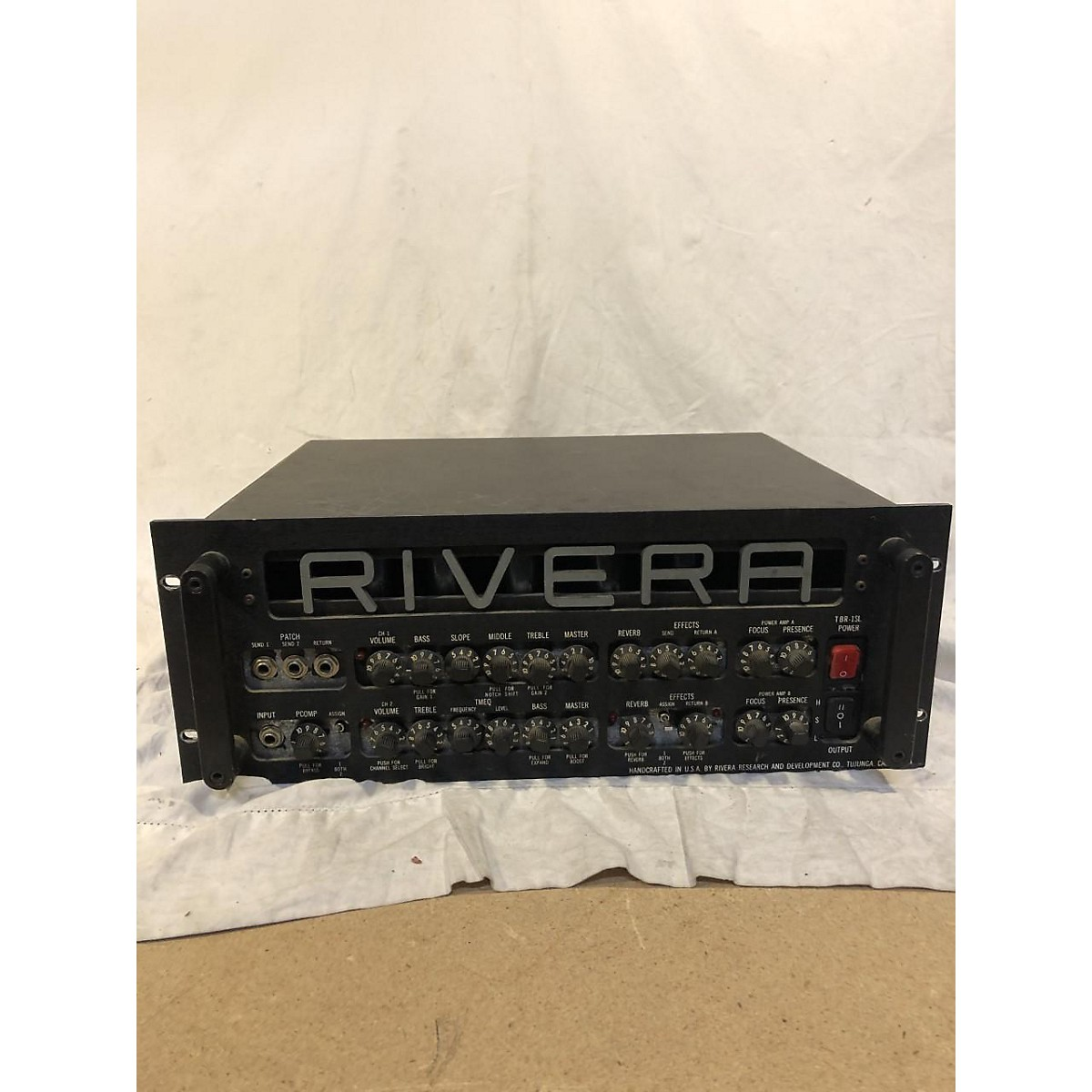 Rivera TBR-1SL Solid State Guitar Amp Head