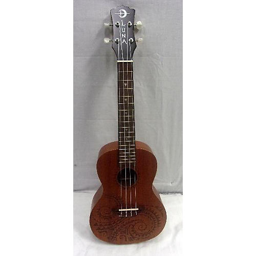 Luna Guitars TC MAH Ukulele