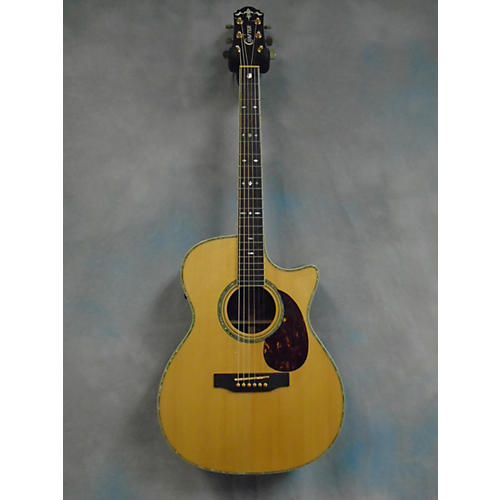 In Store Used TC035 Natural Acoustic Electric Guitar