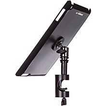 On-Stage TCM9161 Quick Disconnect Tablet Mounting System with Snap-On Cover Level 1 Gun Metal