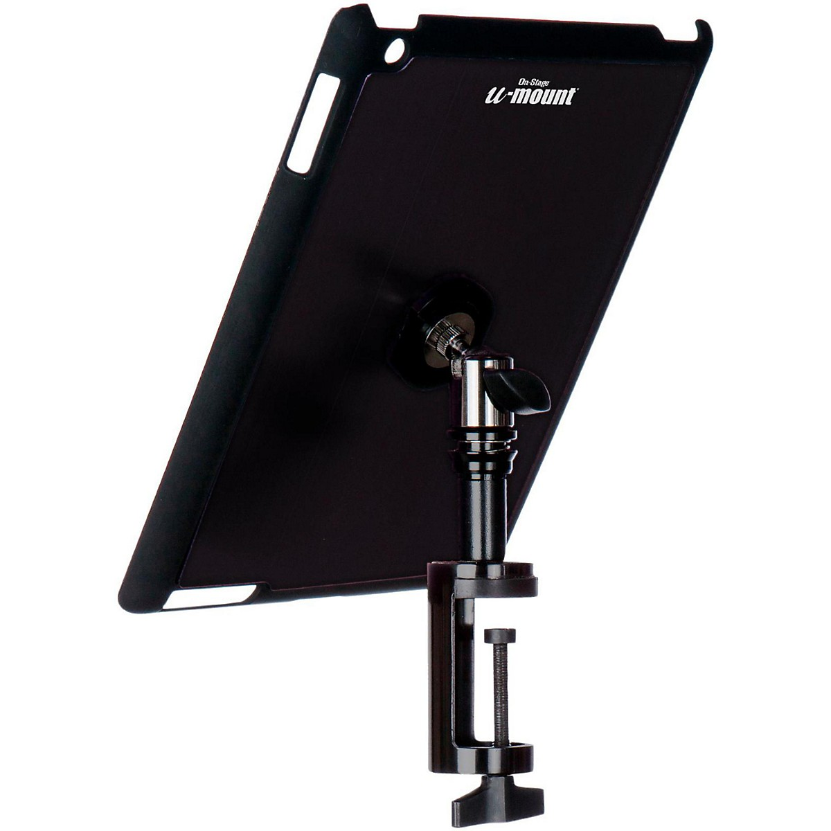 On-Stage TCM9163 Quick Disconnect Table Edge Tablet Mounting System with Snap-On Cover